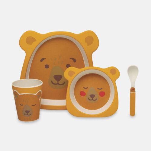 Cath Kidston Woodland Bear Mealtime Set