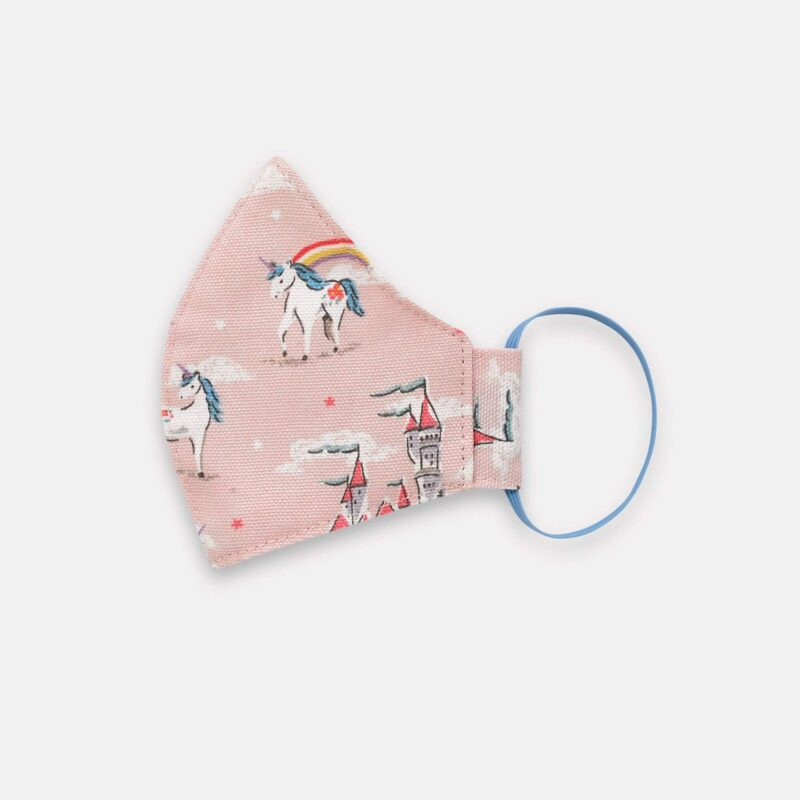 Cath Kidston Kids Face Covering: Unicorn & Rainbow