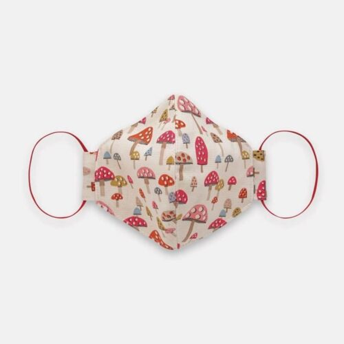 Cath Kidston Adult Face Covering: Mushroom