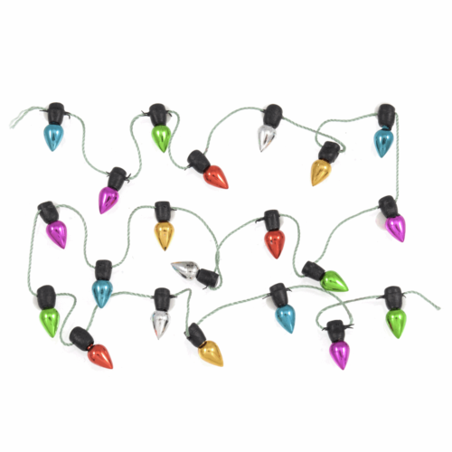 Craft Embellishment: Christmas Light Garland