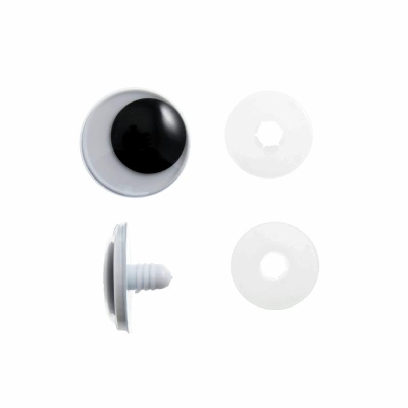 Toy Eyes: Safety Googly: 15mm