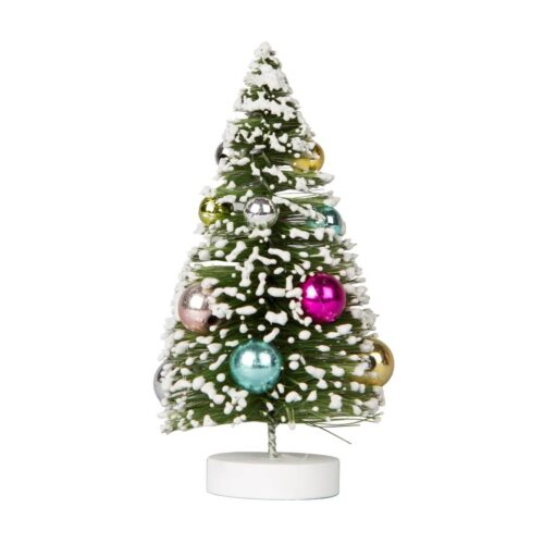 Disco Bauble Tree Standing Christmas Decoration Small