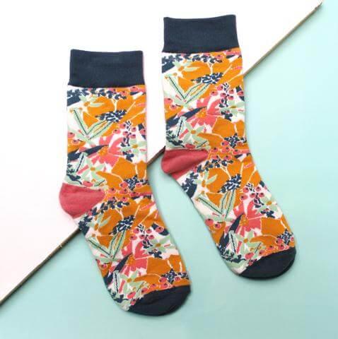 Eden Mustard Socks