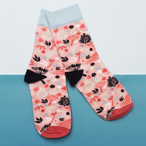 Eden Pink Socks