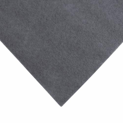 9 x 9 inch Wool Felt Square - Steel Grey
