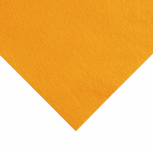 12 x 12 inch Wool Felt Square - Fiesta Gold