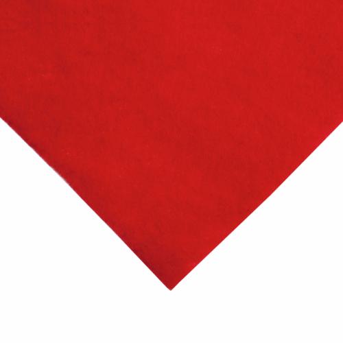 9 x 9 inch Wool Felt Square - Oriental Red