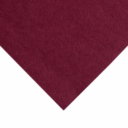12 x 12 inch Wool Felt Square - Garnet
