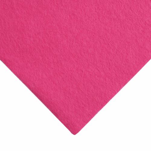 9 x 9 inch Wool Felt Square - Splendid Pink