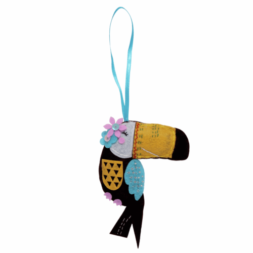 Felt Decoration Kit: Toucan