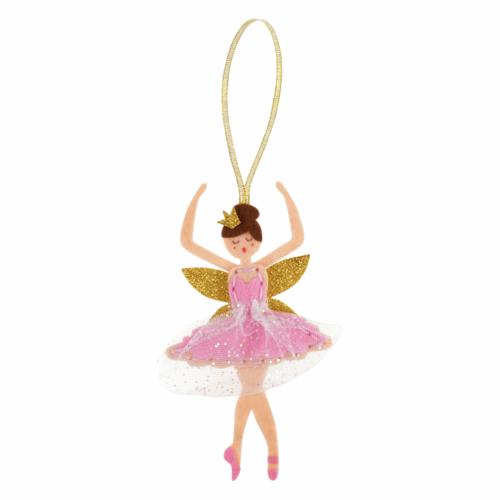 Felt Decoration Kit: Christmas Sugar Plum Fairy
