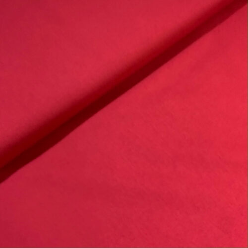 Plain Crimson Cotton Fabric - Fat Quarter