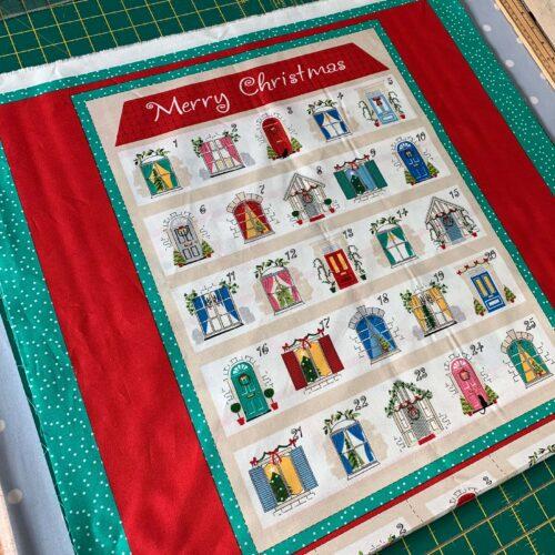 Advent & Stocking Fabric Panels