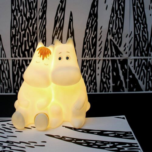 Moomin & Snorkmaiden Love LED Lamp