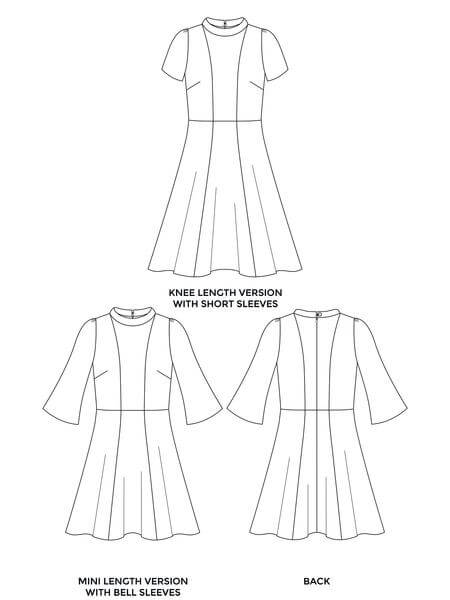 Tilly and the Buttons Martha Dress Sewing Pattern
