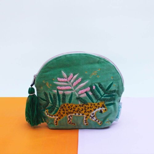 Savannah Velvet Make Up Bag