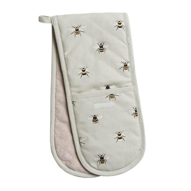 Sophie Allport Bees Double Oven Glove