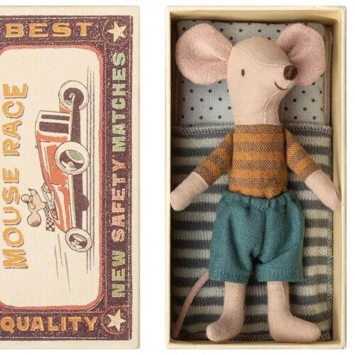 Maileg Big Brother Mouse In Box