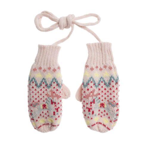 Sophie Allport Fairground Ponies Knitted Kids Mittens