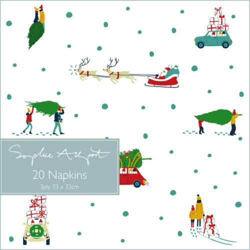Sophie Allport Home for Christmas Paper Napkins