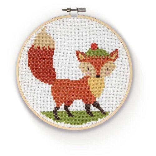 Fox Cross Stitch Kit