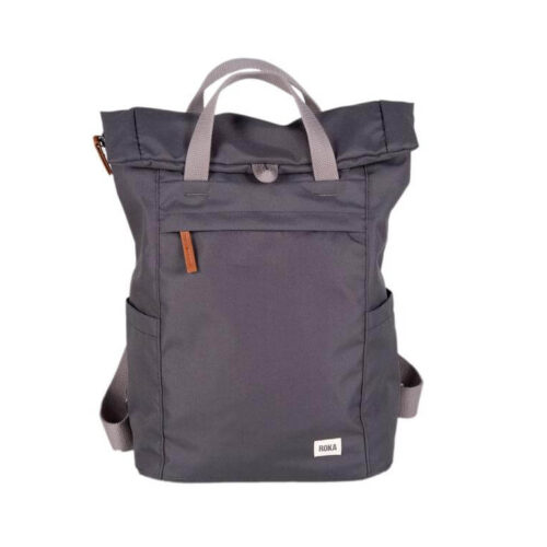 Roka Backpack Sustainable Small Finchley A: Carbon