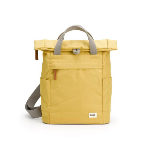 Roka Backpack Sustainable Small Finchley A: Flax