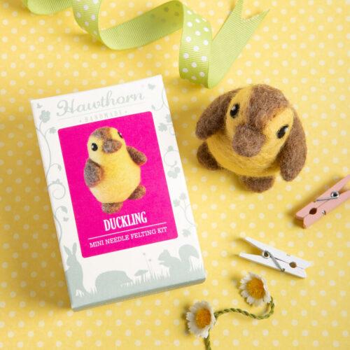 Duckling Mini Needle Felting Kit