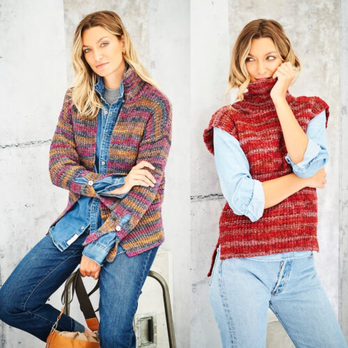 Stylecraft Amor Aran Knitting Pattern 9799