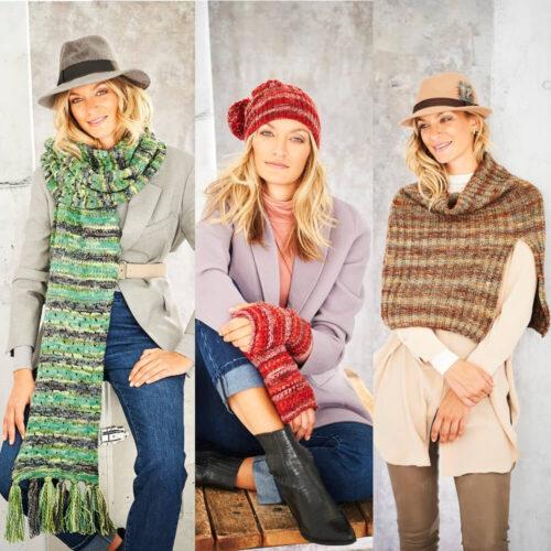 Stylecraft Amor Aran Knitting Pattern 9803