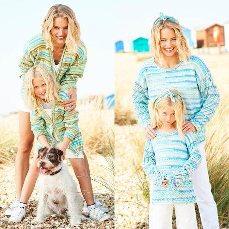 Stylecraft You & Me DK Knitting Pattern 9822