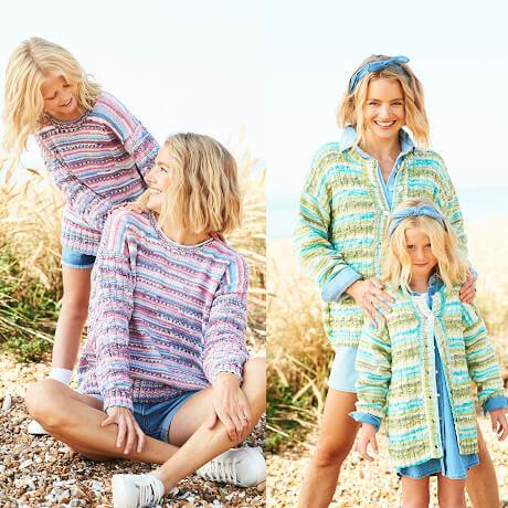 Stylecraft You & Me DK Knitting Pattern 9826