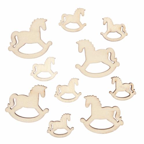 Craft Embellishments: Assorted Rocking Horse