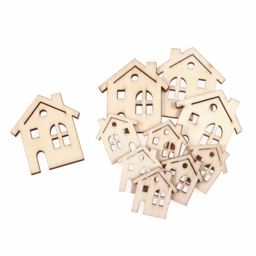 Craft Embellishments: Assorted Houses