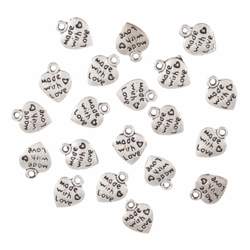 Charms: Made with Love Hearts