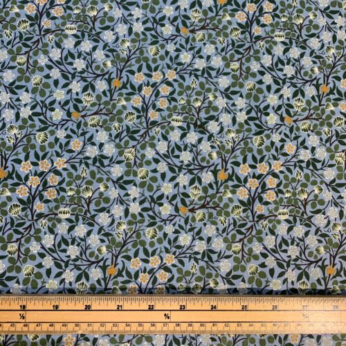 William Morris Clover Mural Cotton Fabric - £10 per metre