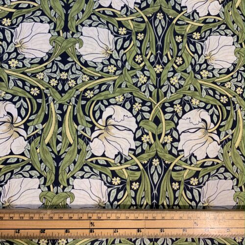 William Morris Pimpernel Cotton Fabric - £10 per metre