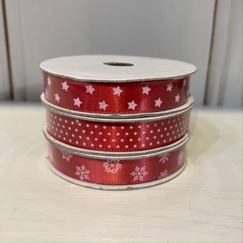 Ribbon Pack: Red Star/Snow/Dotty