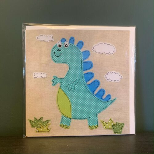Speckled Dino Greetings Card