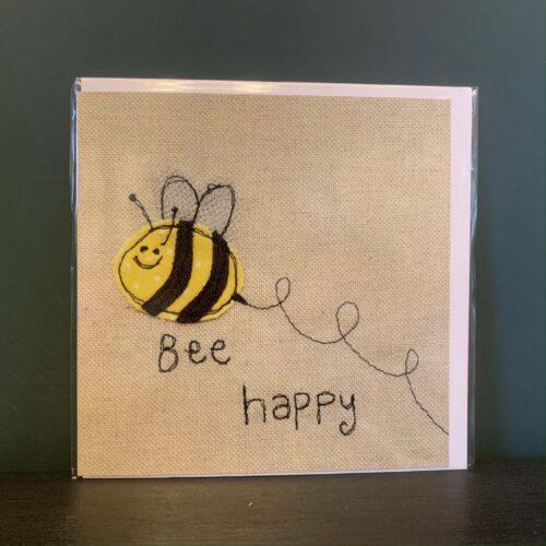 Bee Happy Greetings Card