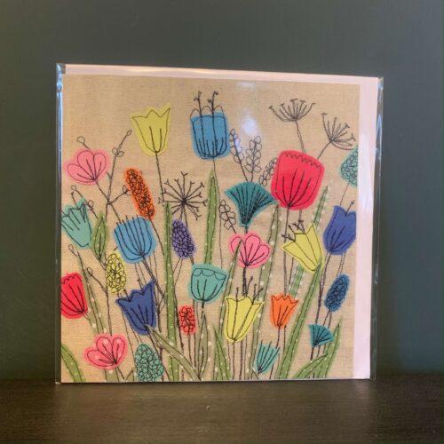 Meadow Flowers Greetings Card