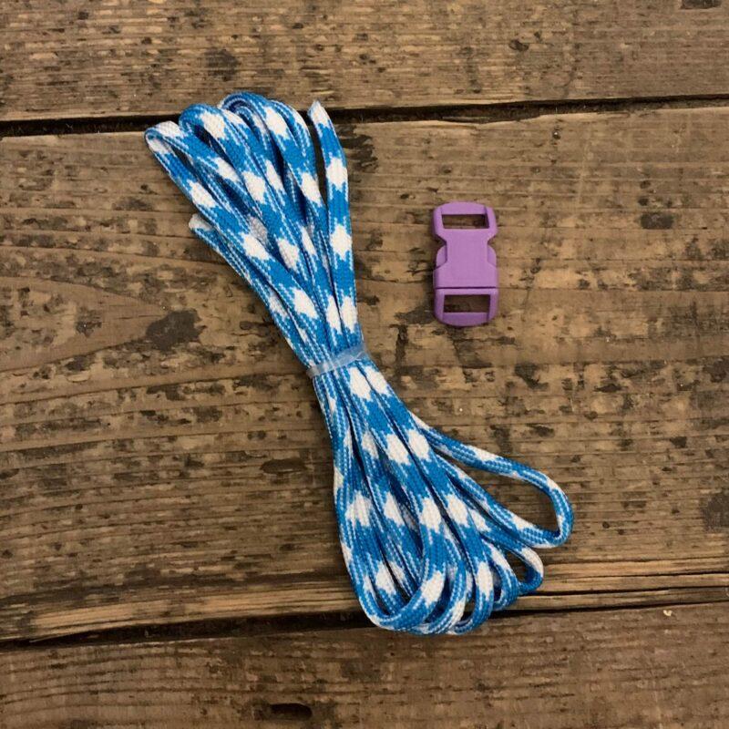 Paracord Bracelet Kit - Blue