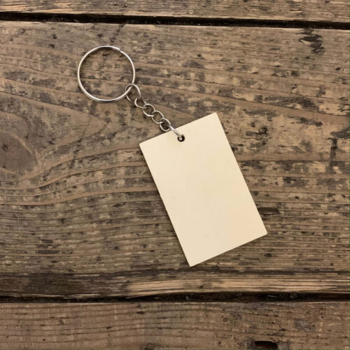 Wooden Keyring Kit