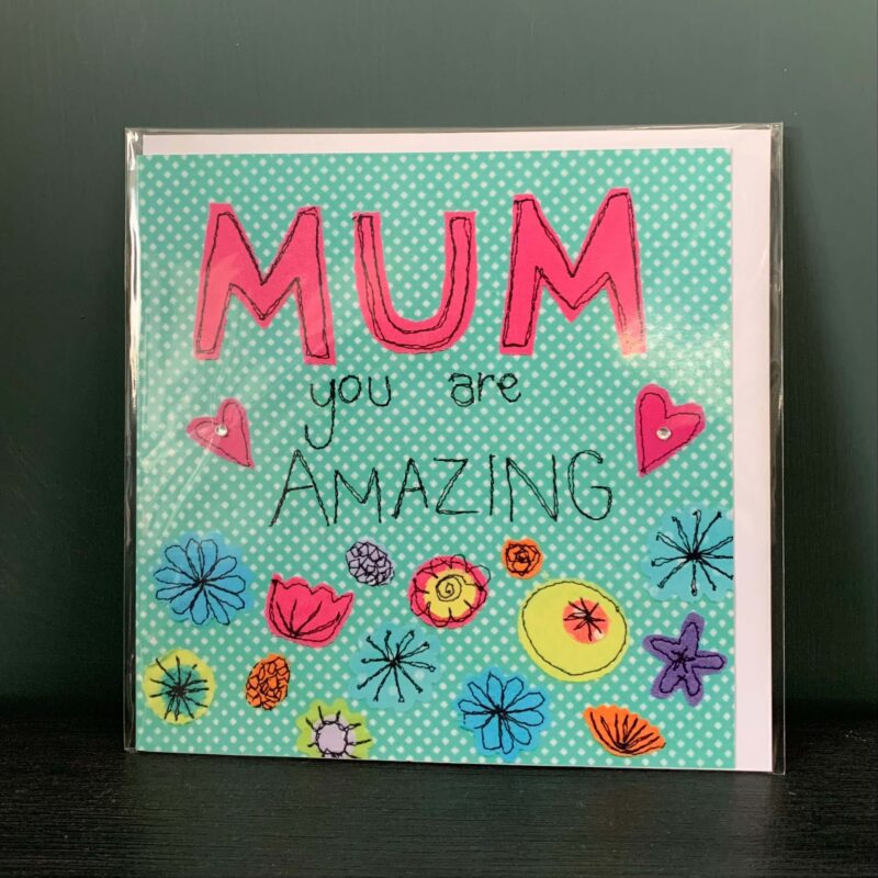Amazing Mum Greetings Card