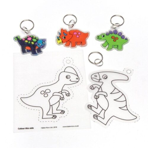 Dinosaur Super Shrink Keyring Kit