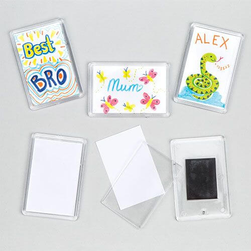 Plastic Fridge Magnet Kit