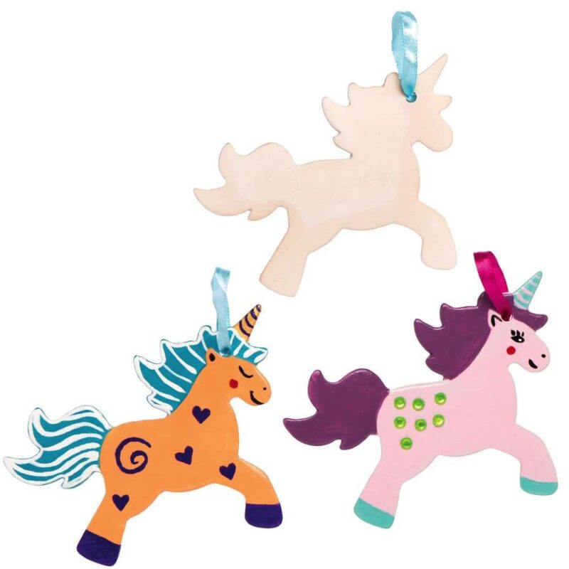 Ceramic Unicorn Decoration Kit