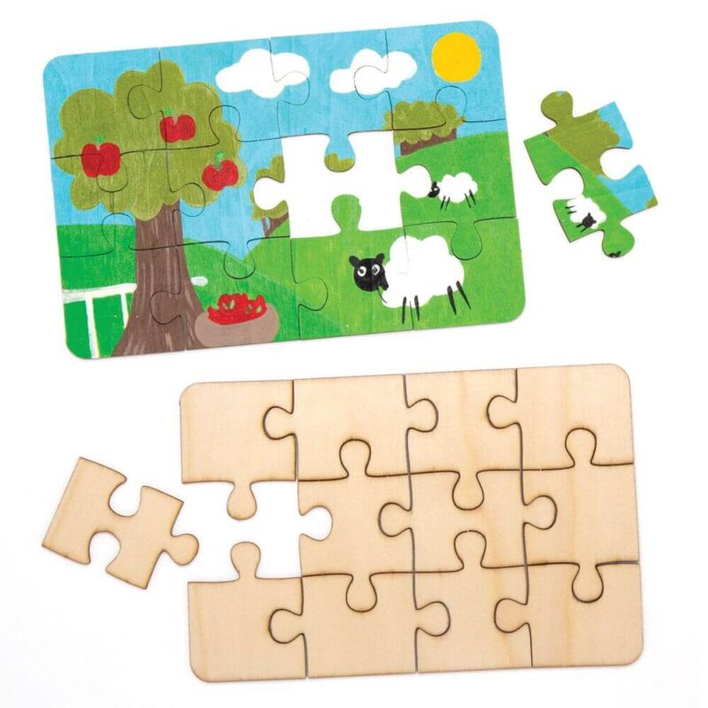 Wooden Jigsaw Puzzle Kit