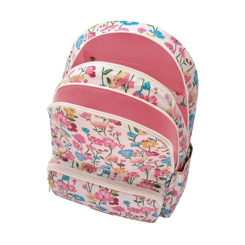 Cath Kidston Park Meadow Cream Pocket Backpack