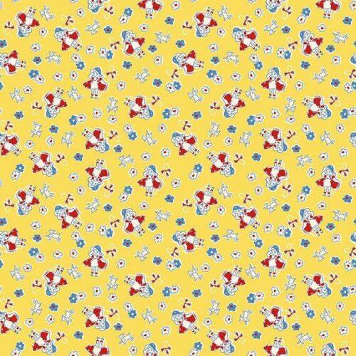Riley Blake Toy Chest 2: Bo Peep Yellow - £14 per metre